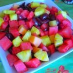 Springy fruit salad