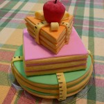 A cute cake for a teacher