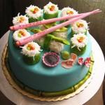 Sushi! Cake!