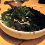 Beautiful mixed seaweed salad